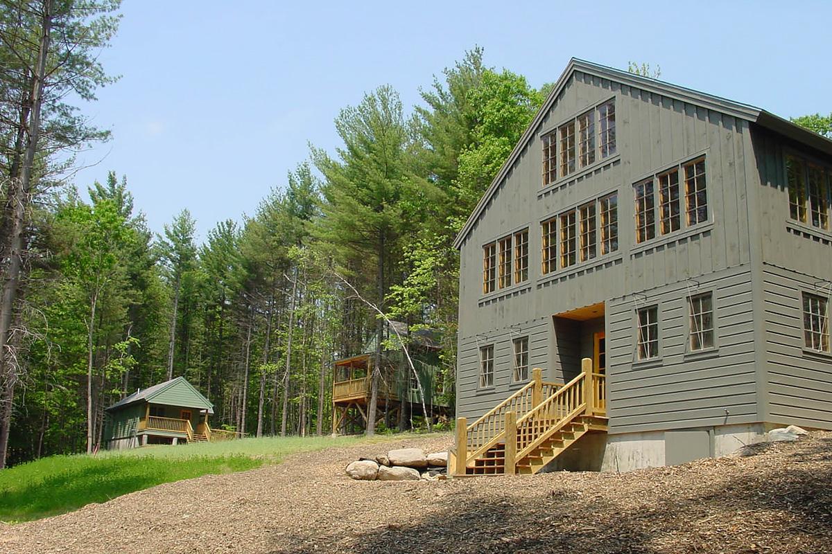 Circle Camp Groton, NH Architect