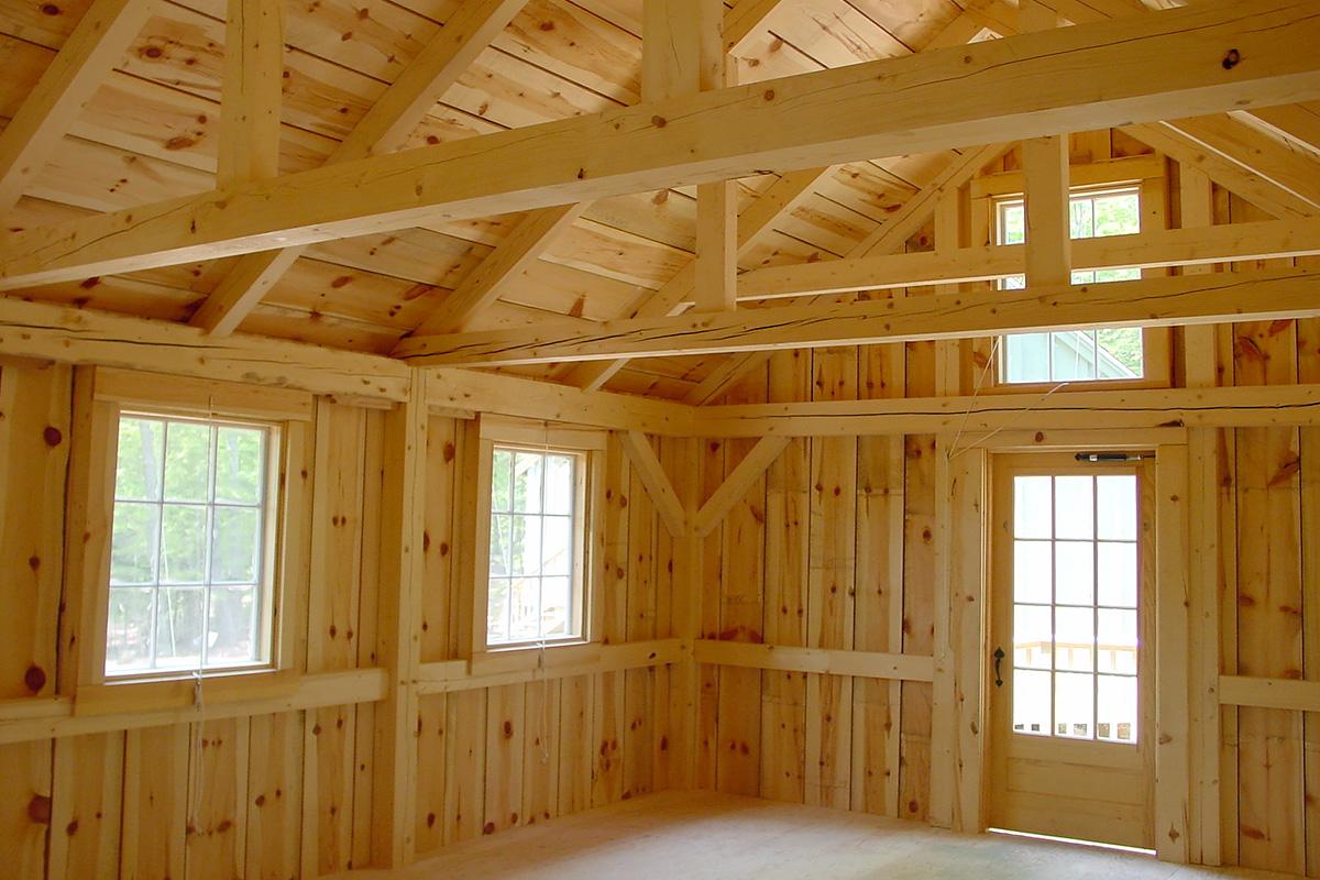 Circle Camp Groton, NH Architect Interior
