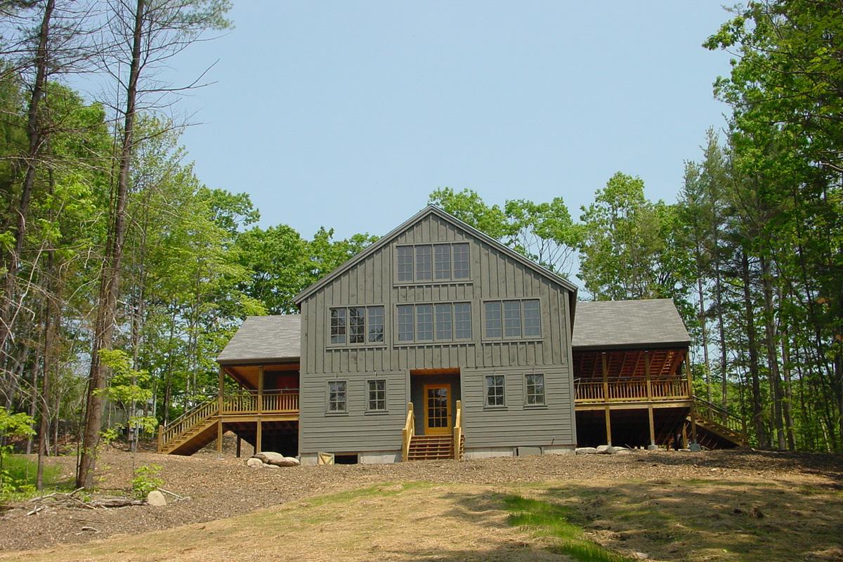 Circle Camp Groton, NH Architect Outdoors