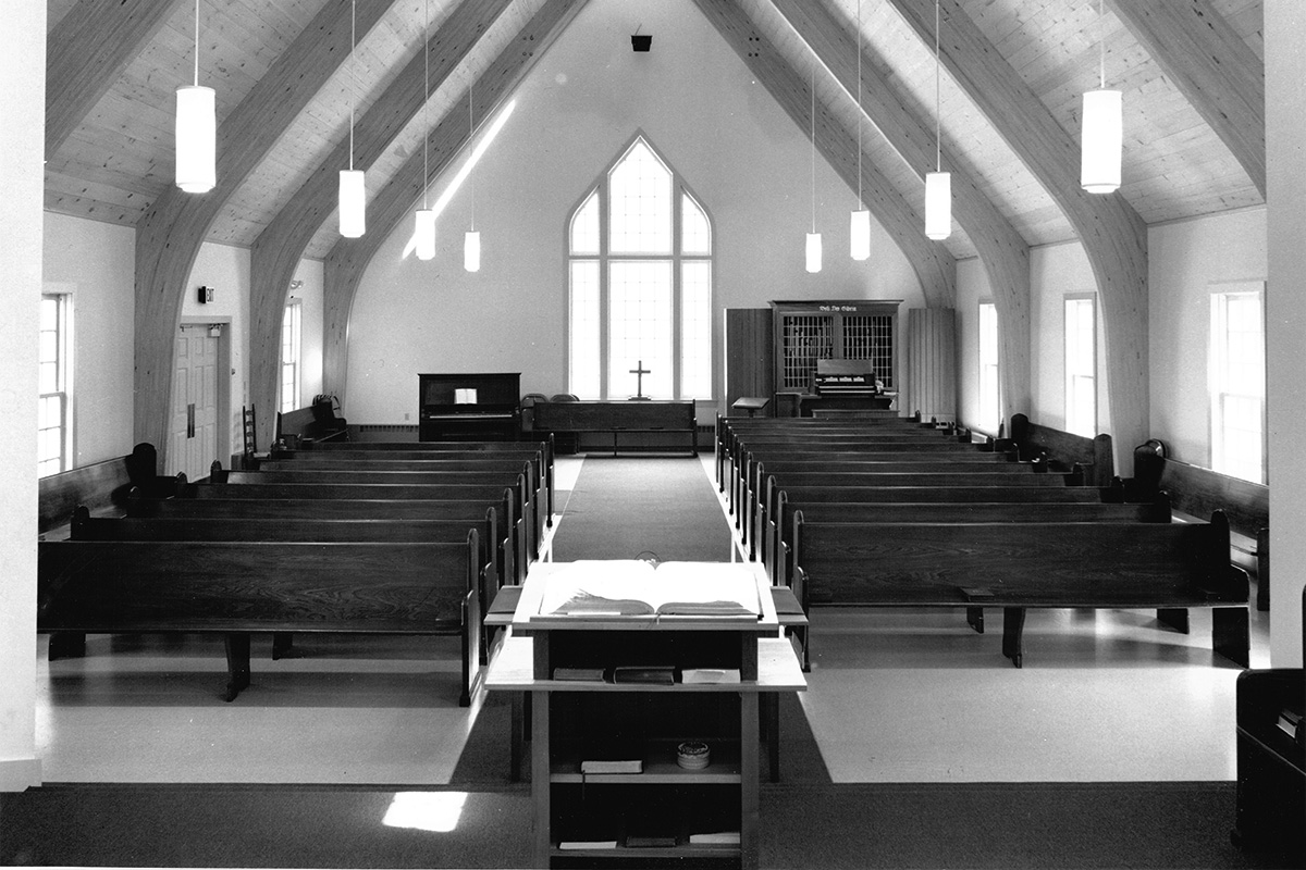 Kearsarge Community Church Architect