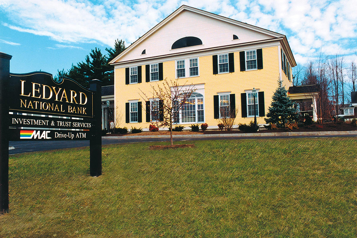Ledyard National Bank Architect, NH
